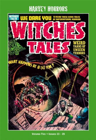 Harvey Horrors Softies - Witches Tales (Vol 5)